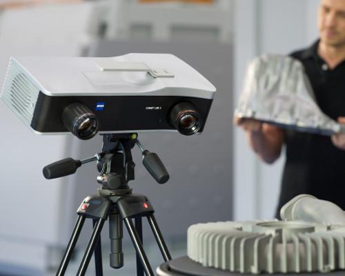 3D scannen van onderdelen